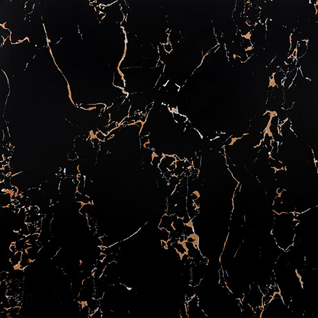 Nero Lava Black Porcelain Polished 600x600 - Tile Centre Adelaide