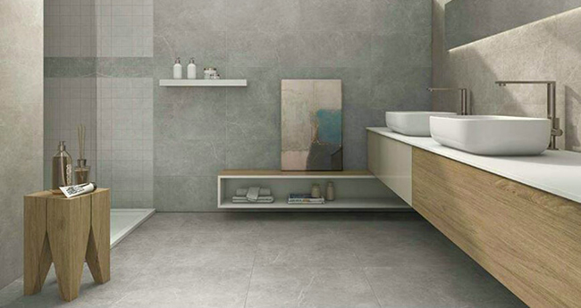 Ocean Grey Porcelain Tiles - Tile Centre Adelaide